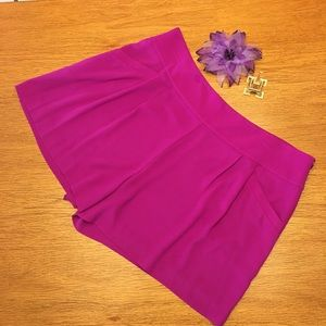 Loft flowy pink dressy shorts. Size 14